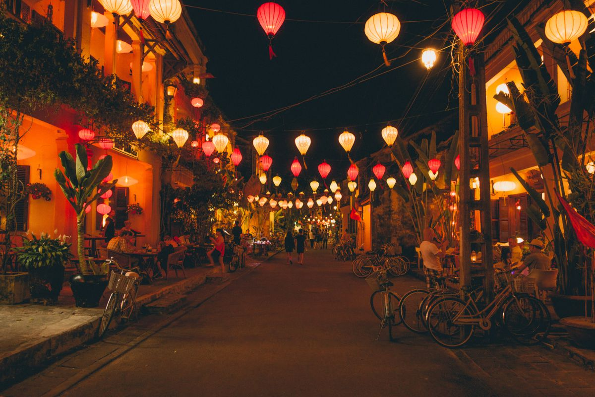 The Colorful Lanterns Of Hoi An S Ancient City A Backpacking Guide To Exploring Hoi An S Market Old Town And Rice Fields