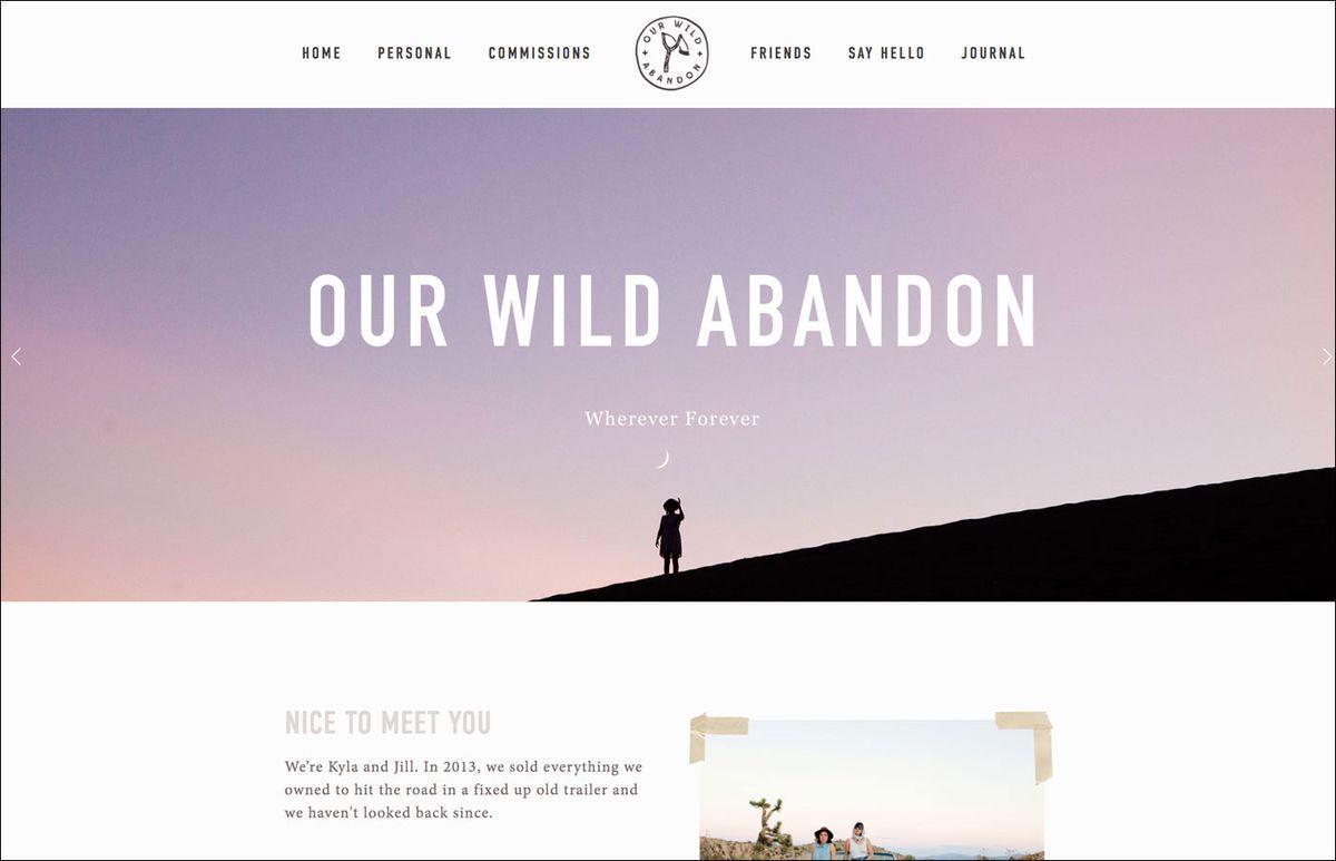 10. Our Wild Abandon