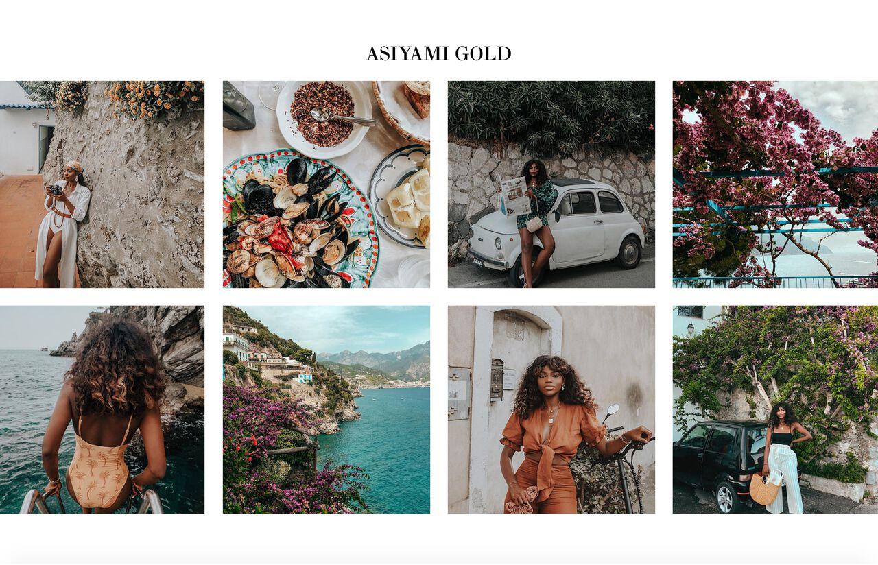 Asiyami Gold Travel Blog