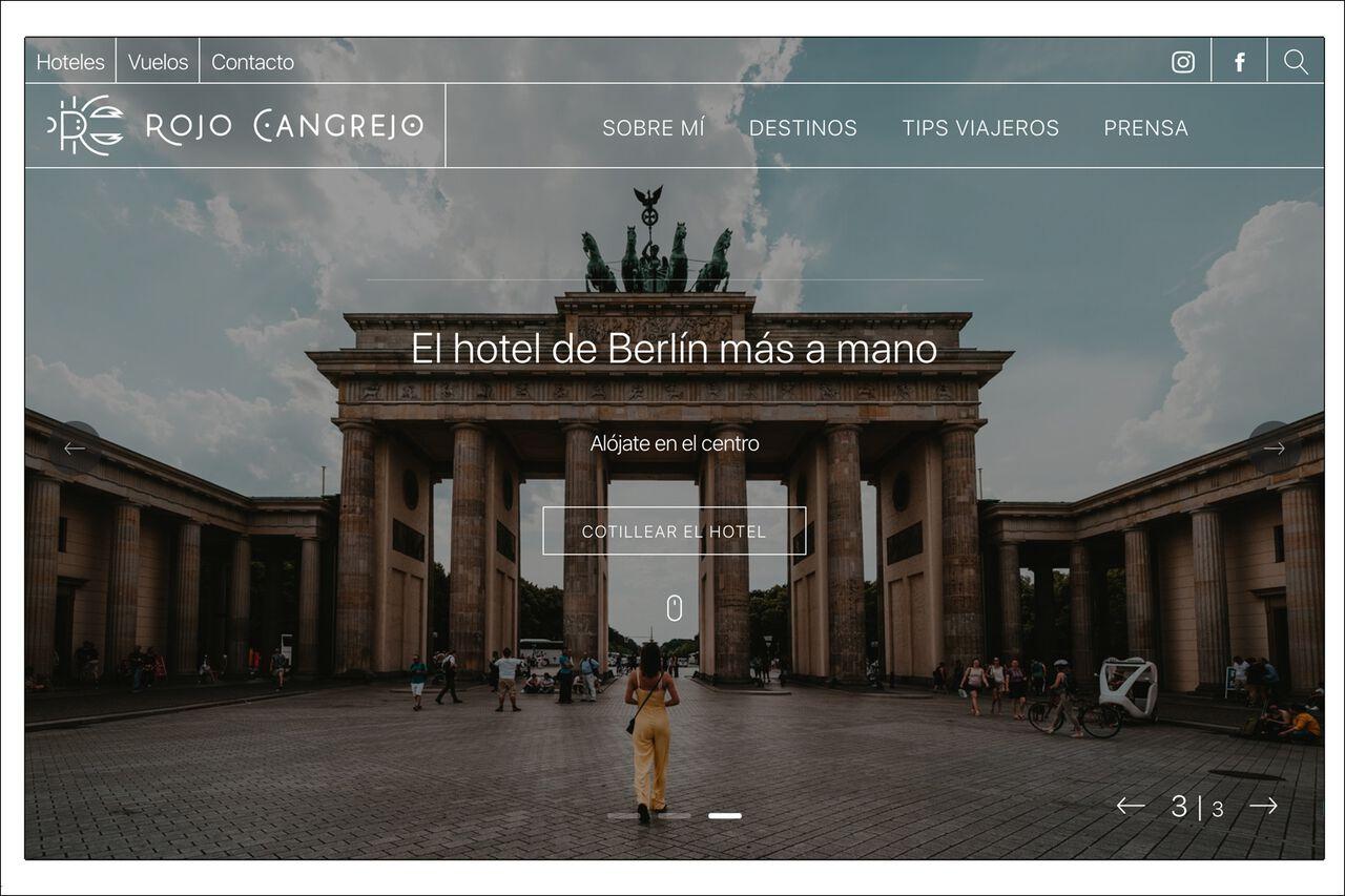 Rojo Cangrejo Website