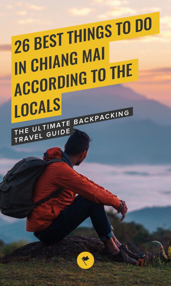 Share 14 Best Things to Do in Chiang Mai According to A Thai on Pinterest.