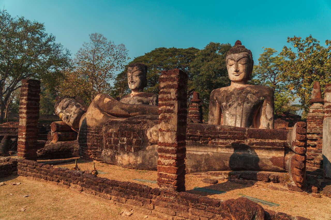 Wat Pra Kaeo in Kamphaeng Phet, Thailand